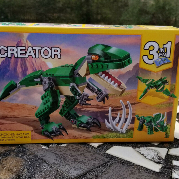 Damaged Box LEGO Creator Mighty Dinosaurs 31058